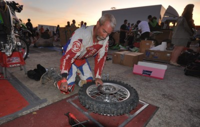 """Mister Six Days,"" Jeff Fredette finished his 29th Six Days where he as a perfect finish record. The 51 year-old Fredette had to replace a clutch on Day-three when it started to slip. Fredette has the longest perfect finish record in the sports 84th running."