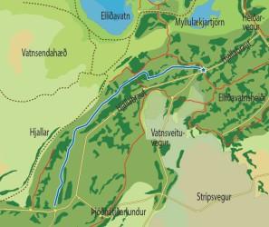 Skíðagöngubraut